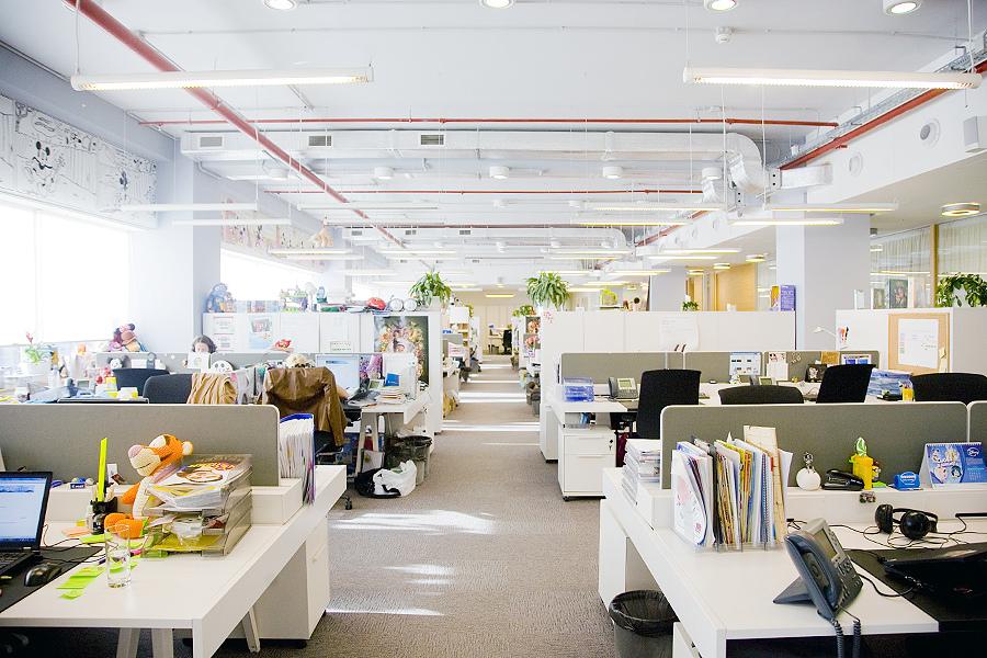 Illuminazione Ufficio Open Space : Ufficio open space: tra innovazione architettonica e maggiore